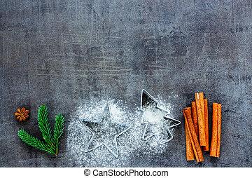 Holiday Christmas baking