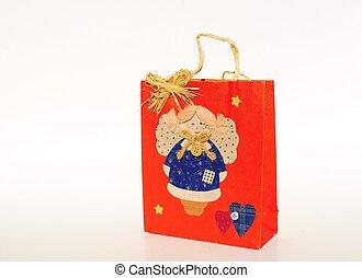 Holiday Christmas Gift Bag