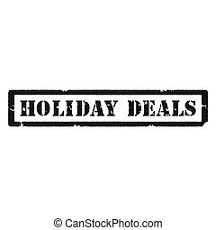 Holiday deals stamp