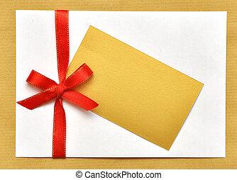 holiday envelop