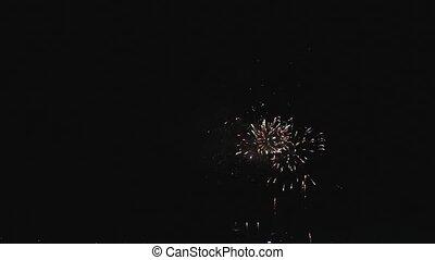 Holiday Fireworks Celebration - Fourth of July Holiday...