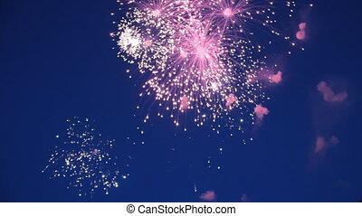 holiday fireworks sound