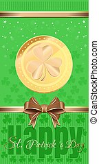 Holiday flyer for St. Patricks Day