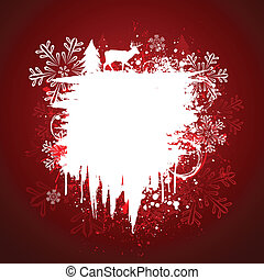 Holiday grunge design