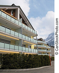 Holiday houses  in Engelberg, famous Swiss skiing resort