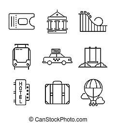 holiday icon set illustration design