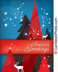 Holiday Illustration: Season's Greetings