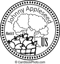 Holiday Johnny Appleseed - National holiday for John Chapman...