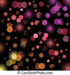 Holiday light background, eps8