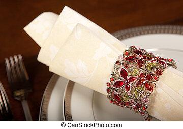 Holiday napkin ring 2