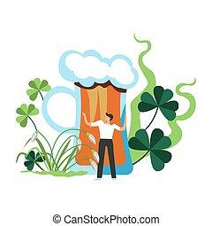 Holiday of Irish people, Saint Patrick, holiday of Ireland