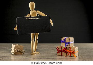 Holiday or Gifting season concept