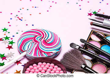 Holiday party makeup cosmetics