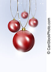 Holiday Red Balls