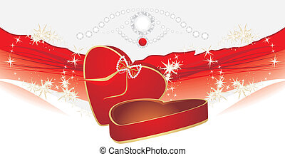 Holiday red box