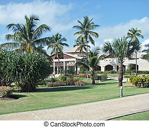 holiday resort at the Dominican Republic, a island of ...