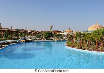 Holiday resort in Egypt