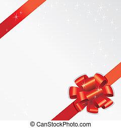 Holiday Ribbon (vector) - Holiday Ribbon (XXL jpeg made from...