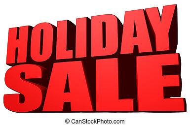 Holiday sale image.