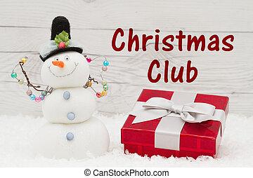 Holiday saving club message
