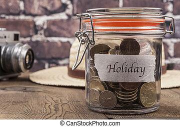Holiday Savings Jar