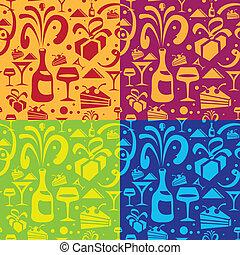 holiday seamless pattern