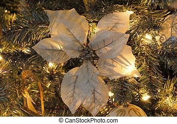 holiday season - closeup of xmas ornament