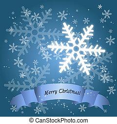 Holiday Season Snow Flake Card