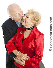 Holiday Seniors - Kiss for Her