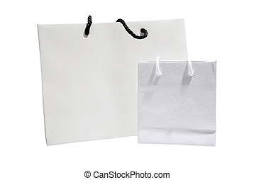 Holiday shopping bags and gift boxes
