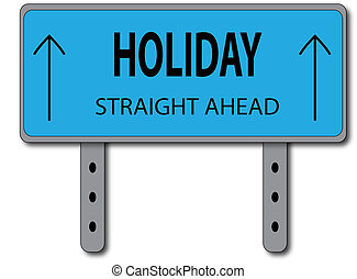 Holiday Sign Concept