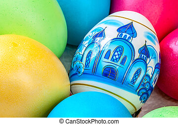 Russian traditional Easter eggs