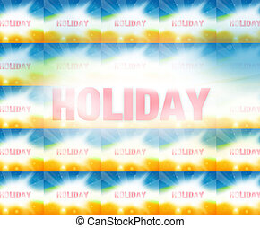 Holiday Summer Background Graphic