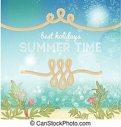 Holiday Summer Background