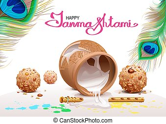 Krishna Janmashtami - Holiday Symbols Krishna Janmashtami....