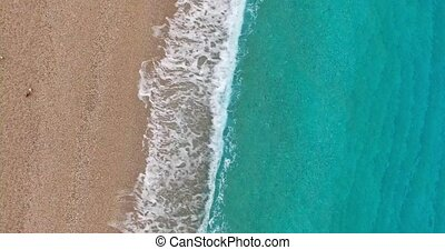 Holiday view on Mediterranean shoreline - The shoreline of...