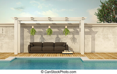 Holiday villa with pool