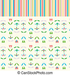 Holidays abstract floral background cute design