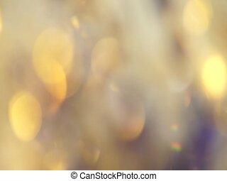 holiday's, abstract, gele lichten, bokeh, achtergrond,...