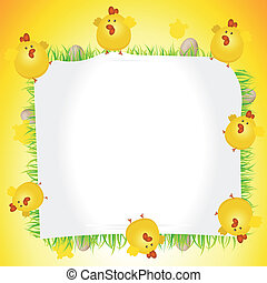 Holidays Easter Chicken Poster