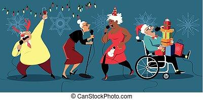 Holidays for senior citizens