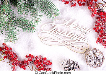 Holidays Greeting Card, poster, invitation for Winter Happy Holidays.