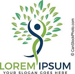 Holistic health logo design. - Fitness and Wellness logo...