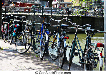 Holland, Netherlands, capital of Amsterdam - Amsterdam in...