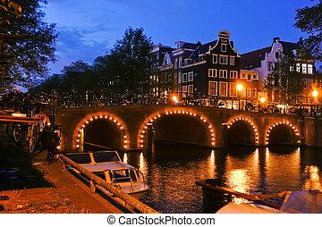 Holland, Netherlands, capital of Amsterdam
