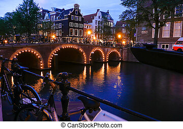 Holland, Netherlands, capital of Amsterdam