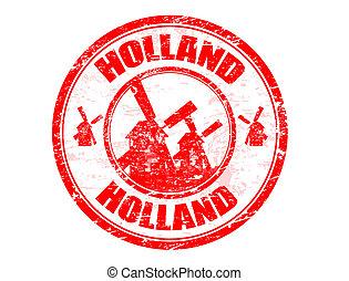holland, stämpel