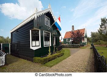 hollandse, woning