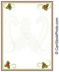 Holly Border Frame
