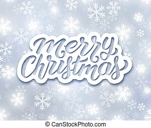 Holly Jolly Merry Christmas greeting card
